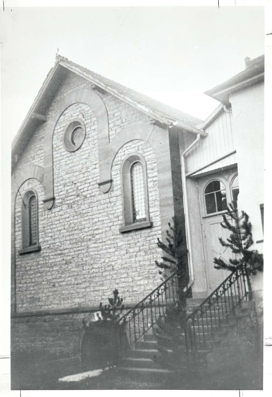 Königheim, TBB; Synagoge, Vorderansicht, Bild 1