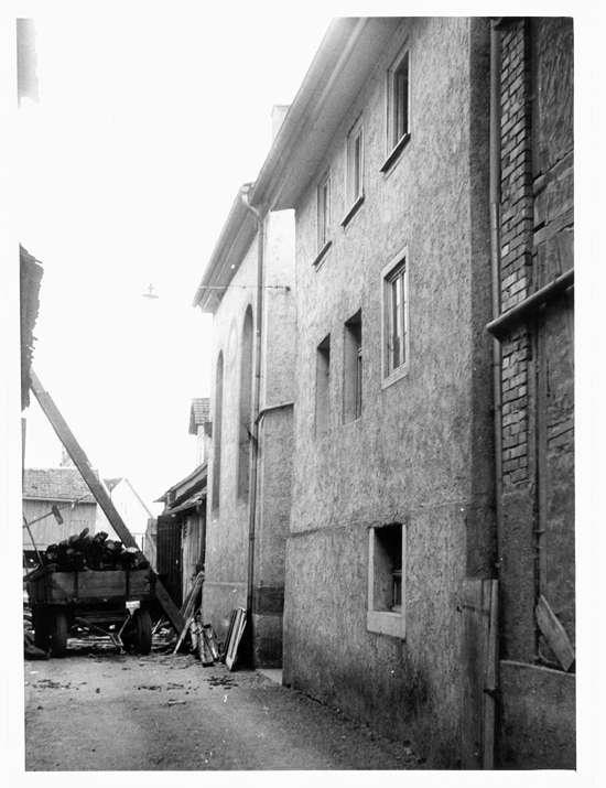 Krautheim, KÜN; Ehemalige Synagoge, Teilansicht, Bild 1