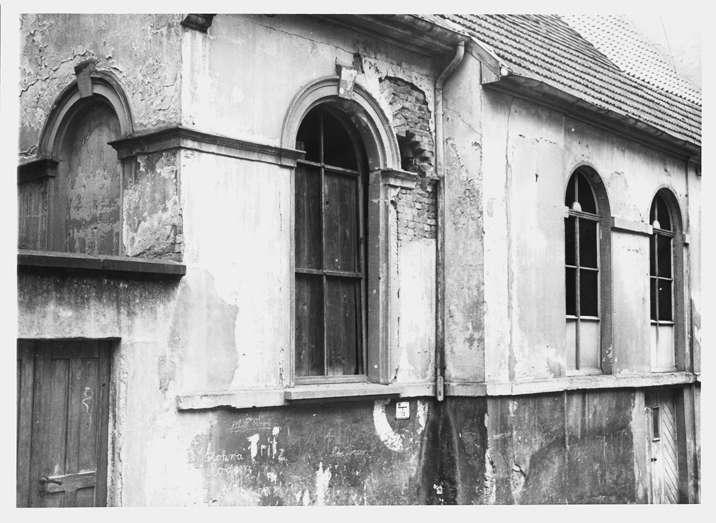 Wiesloch, HD; Ehemalige Synagoge, Seitenansicht, Bild 1
