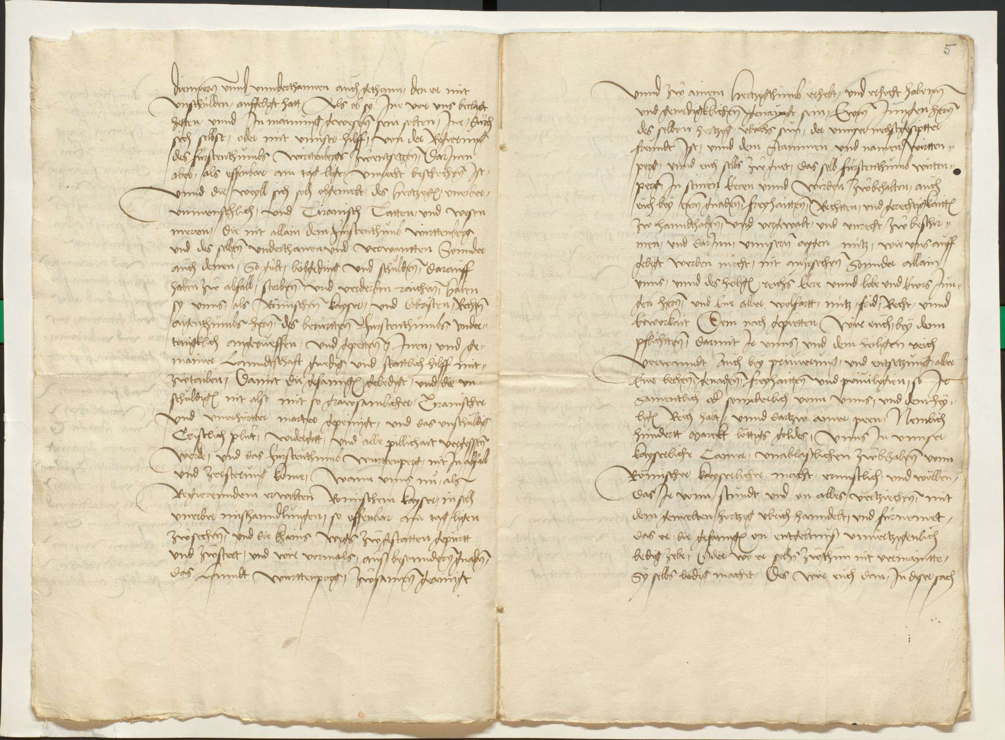 Übertretung des Augsburger Vergleichs und erneute Reichsacht, Auseinandersetzungen mit den Herzögen von Bayern, Übergabe des Schlosses Tübingen, Bild 3