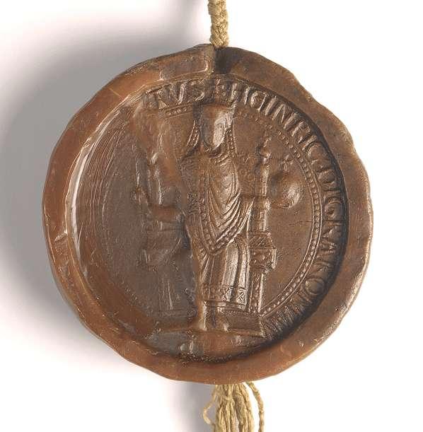 Kaiser Heinrich VI. erlaubt seinen Dienstleuten, von ihrem beweglichen und unbeweglichen Gut an das Kloster Bebenhausen um ihrer Seelen Heil willen zu schenken., Bild 3