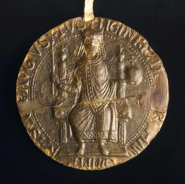 Kaiser Heinrich VI. gebietet allen Getreuen des Reiches, das Kloster Herrenalb in seinen Geschäften, wo solche an sie gelangen würden, zu fördern und dasselbe weder selbst zu beschweren, noch von anderen beschweren zu lassen., Bild 3