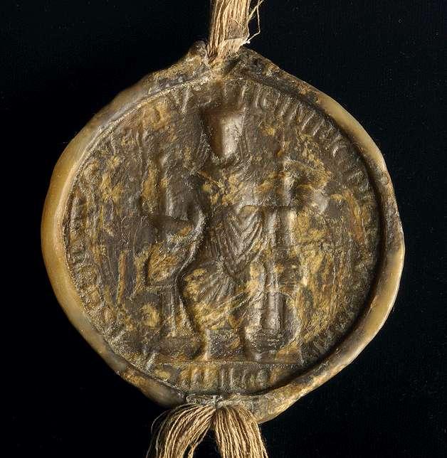 Kaiser Heinrich VI. bestätigt den Kauf, wodurch der reichenauische Dienstmann, Ritter Berthold Maisere, dem Kloster Maulbronn ein Gut bei Weissach überträgt., Bild 3