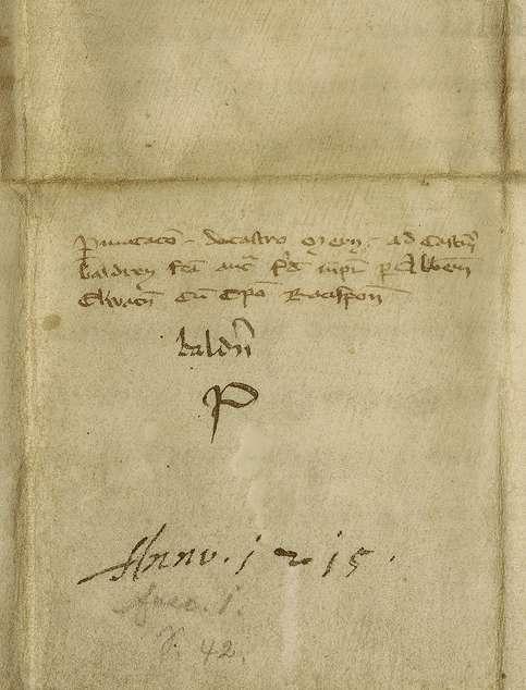 König Friedrich (II.) bestätigt den zwischen Bischof Konrad von Regensburg und Abt Kuno von Ellwangen geschlossenen Tausch ihrer Burgen Baldern und Möhren., Bild 2