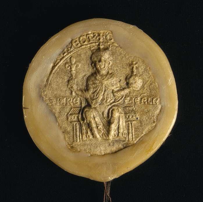 Der erwählte römische König Konrad (IV.) nimmt das Kloster Schussenried mit allen seinen Besitzungen, darunter besonders genannten, in seinen und des Reiches unmittelbaren Schutz und erteilt demselben weitere ausgedehnte Begünstigungen., Bild 2