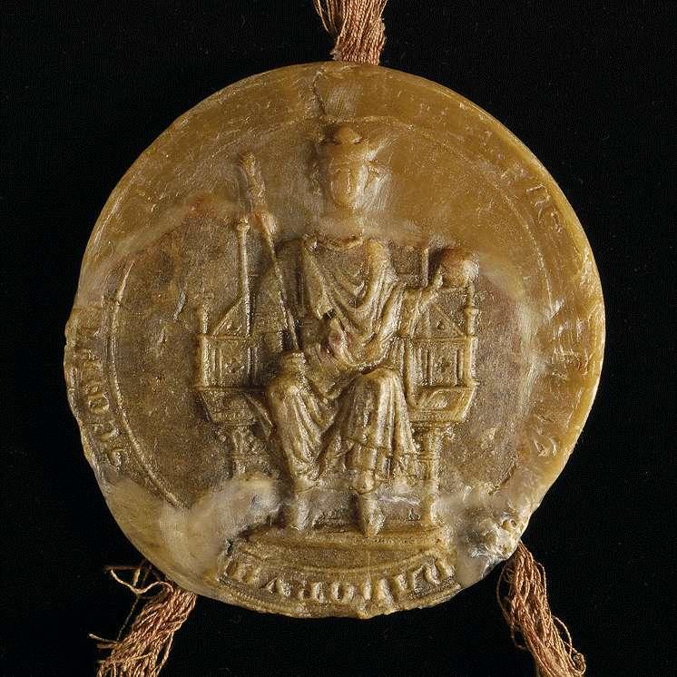 Der römische König Richard nimmt das Kloster Maulbronn mit allen seinen Leuten, Gütern und Besitzungen in seinen Schutz, bestätigt die von seinen kaiserlichen und königlichen Vorfahren demselben erteilten Rechtsbegünstigungen und verspricht, von den Vogteien über seine Güter ohne des Abts und Konvents Einwilligung keine zu veräußern., Bild 3