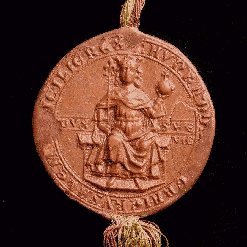 König Konradin von Jerusalem und Sizilien, Herzog von Schwaben, bestätigt dem Kloster Weißenau alle demselben von seinen Vorfahren verliehenen Rechte., Bild 3