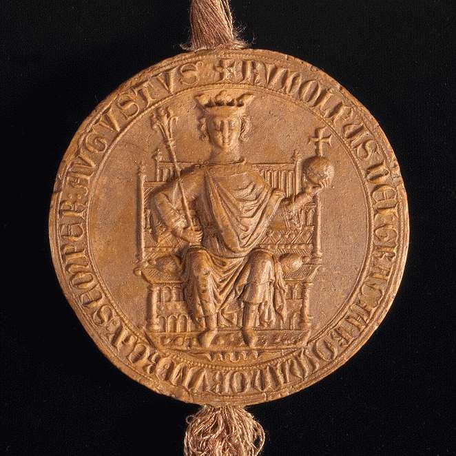 König Rudolf befreit den Hof des Klosters Herrenalb in seiner Stadt Weil von Bede, Steuer und allen Diensten., Bild 3