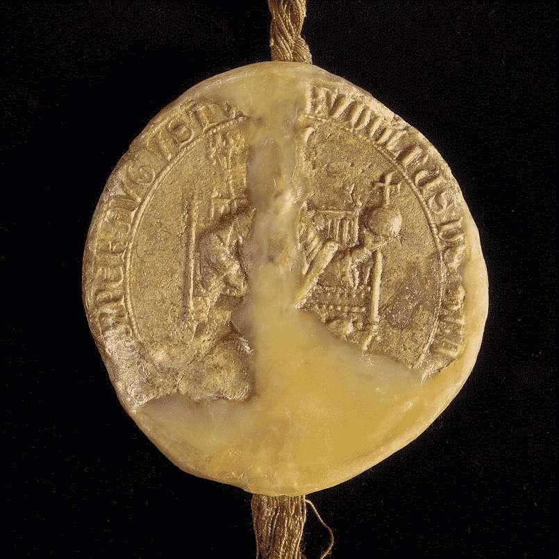 König Rudolf bestätigt der Stadt Biberach die ihr von seinen Vorgängern verliehenen Privilegien., Bild 3