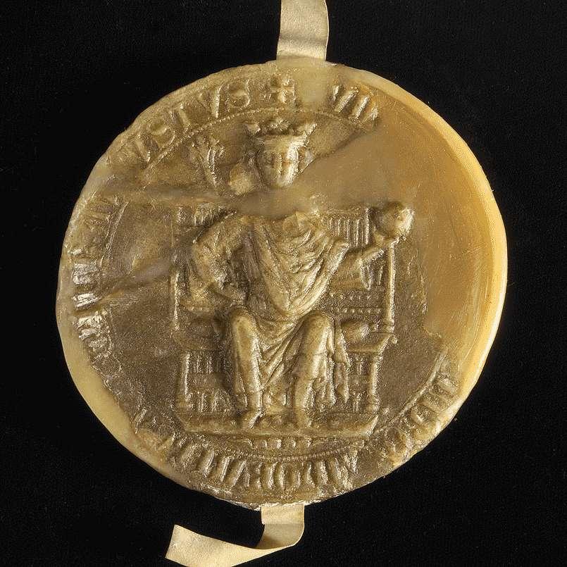 König Rudolf befiehlt der Stadt Esslingen, das Kloster Sirnau im Besitz der Einödmühle am Neckar zu schützen., Bild 3
