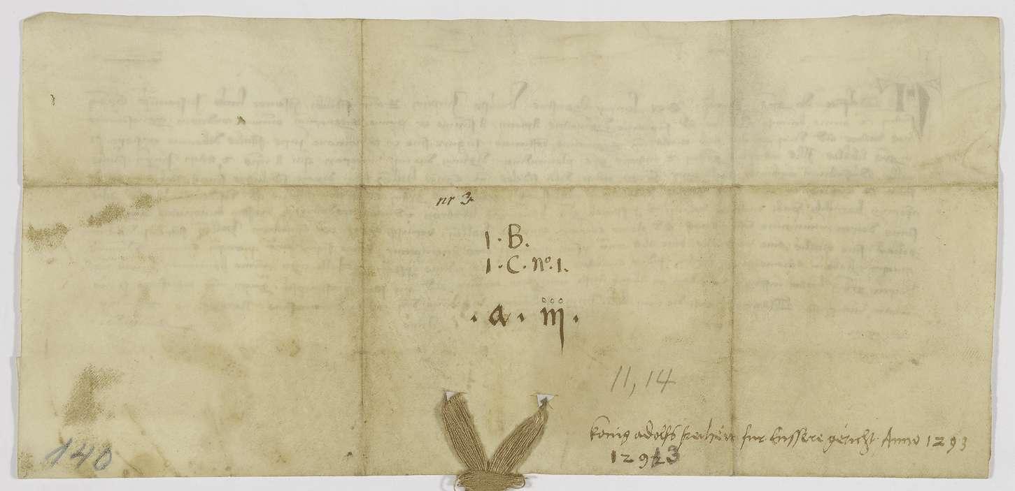 König Adolf von Nassau verleiht den Bürgern von Hall das privilegium de non evocando., Bild 2