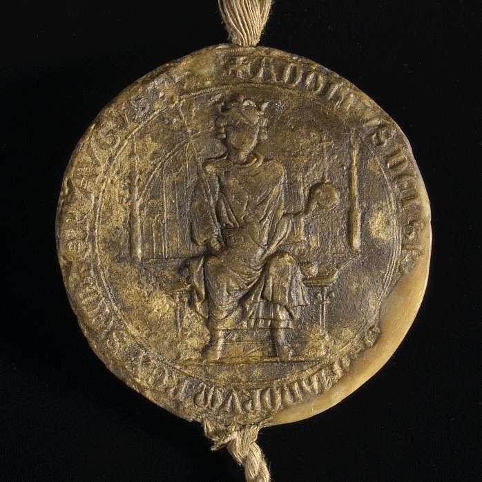 König Adolf von Nassau verleiht den Bürgern von Hall das privilegium de non evocando., Bild 3