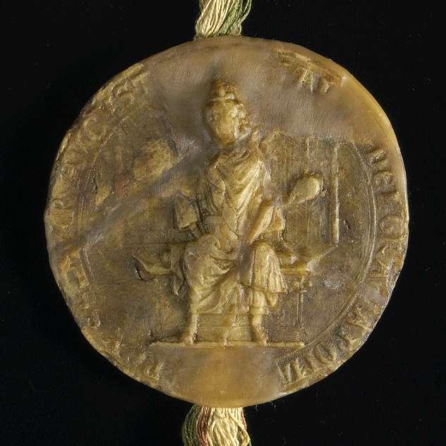König Adolf von Nassau verleiht dem Kloster Bebenhausen das Bürgerrecht in Ulm mit voller Zoll- und Handelsfreiheit in dieser Stadt., Bild 3