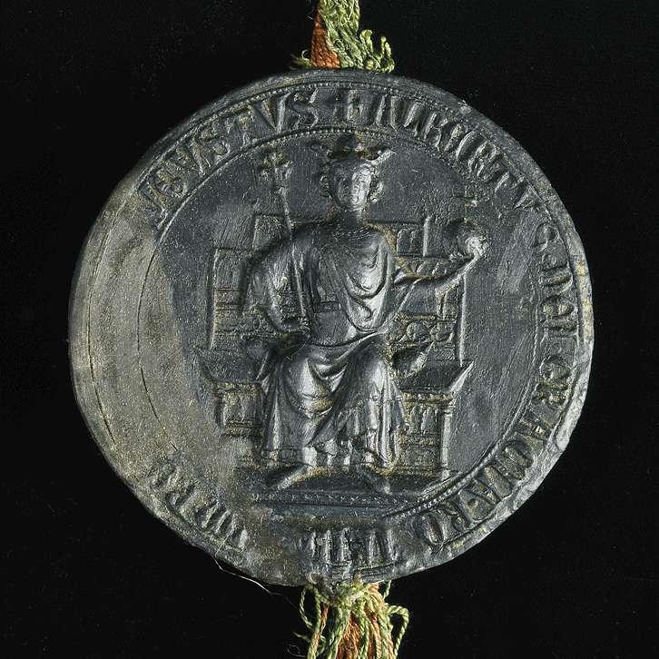 König Albrecht befiehlt seinen lieben Getreuen Ulrich und Marquard von Schellenberg das Kloster Weißenau in seinen Besitzungen in Eisenbach und Amtzell zu schützen., Bild 3