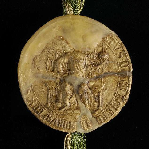 König Albrecht verleiht der Stadt Ravensburg auch die neuen Freiheiten, die er Ulm gegeben hat., Bild 3