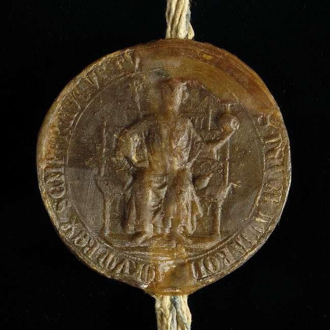 König Albrecht übernimmt die Vogtei des Klosters Steinheim und setzt seine und des Klosters Rechte fest., Bild 3