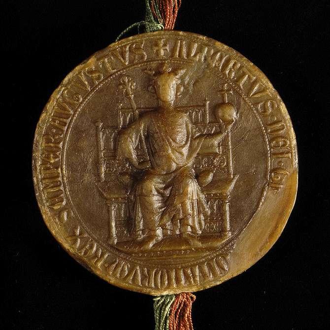 König Albrecht erlaubt dem Kloster Maulbronn, die Kosten, die ihm der Durchzug des Königs verursacht, auf seine Dörfer umzulegen., Bild 3