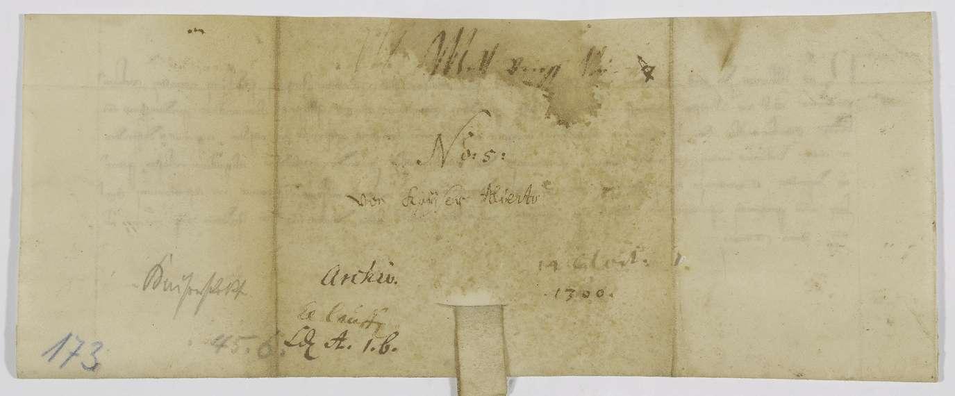 König Albrecht nimmt die Mühle des Klosters Lauffen in seinen Schutz., Bild 2