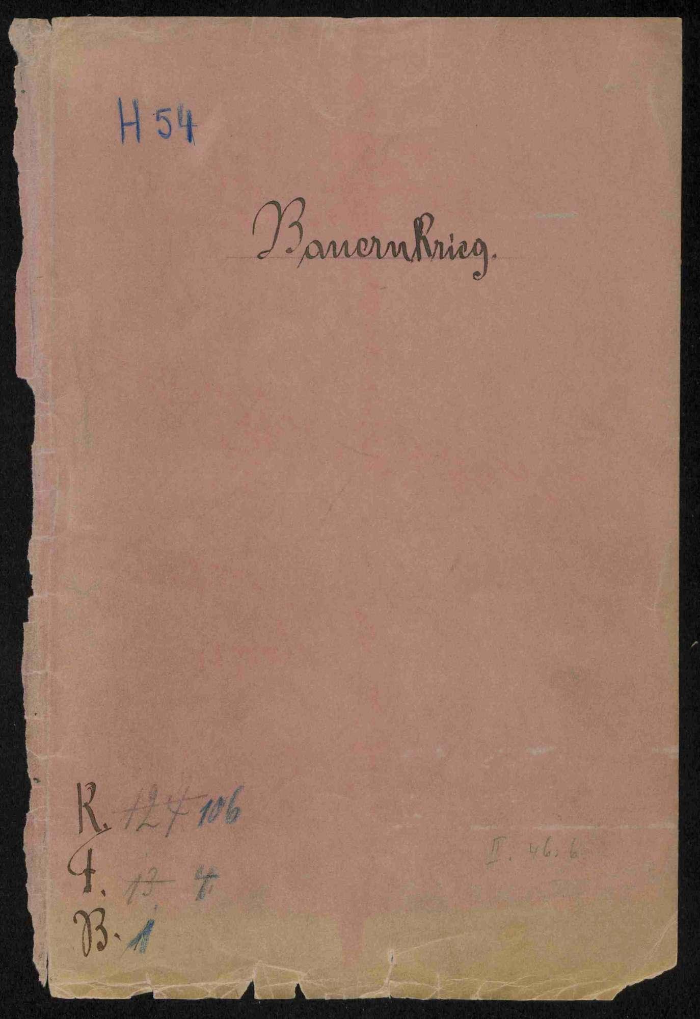 Reskripte und Ausschreiben der Regierung und des Schwäbischen Bundes, Bild 1