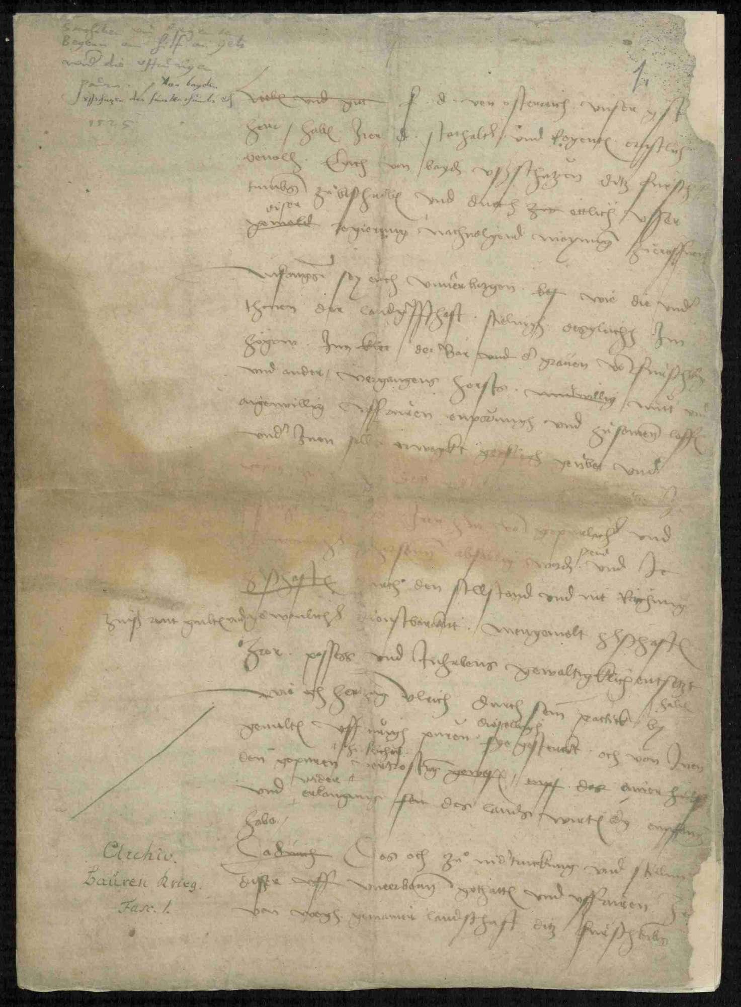 Reskripte und Ausschreiben der Regierung und des Schwäbischen Bundes, Bild 2