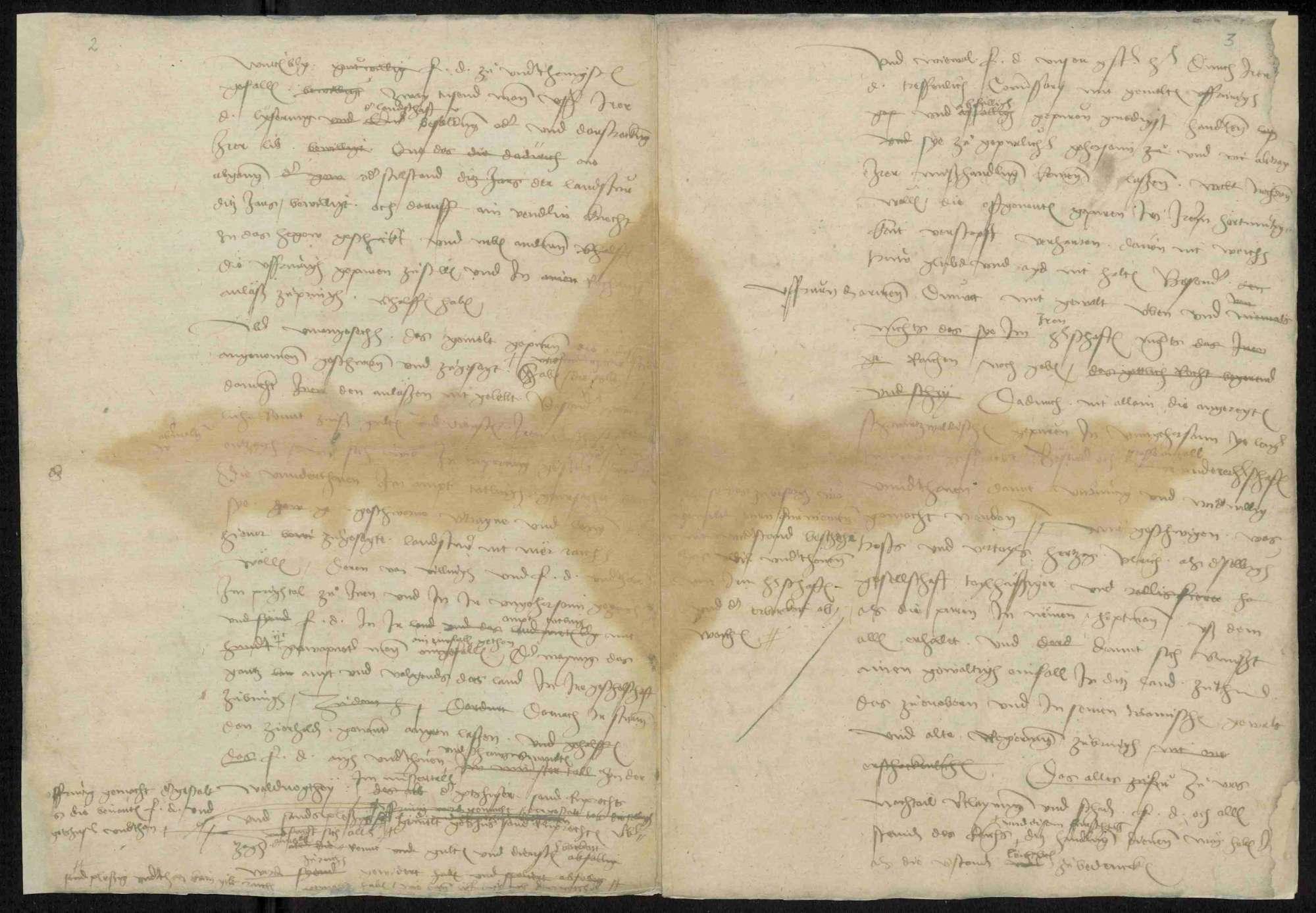 Reskripte und Ausschreiben der Regierung und des Schwäbischen Bundes, Bild 3