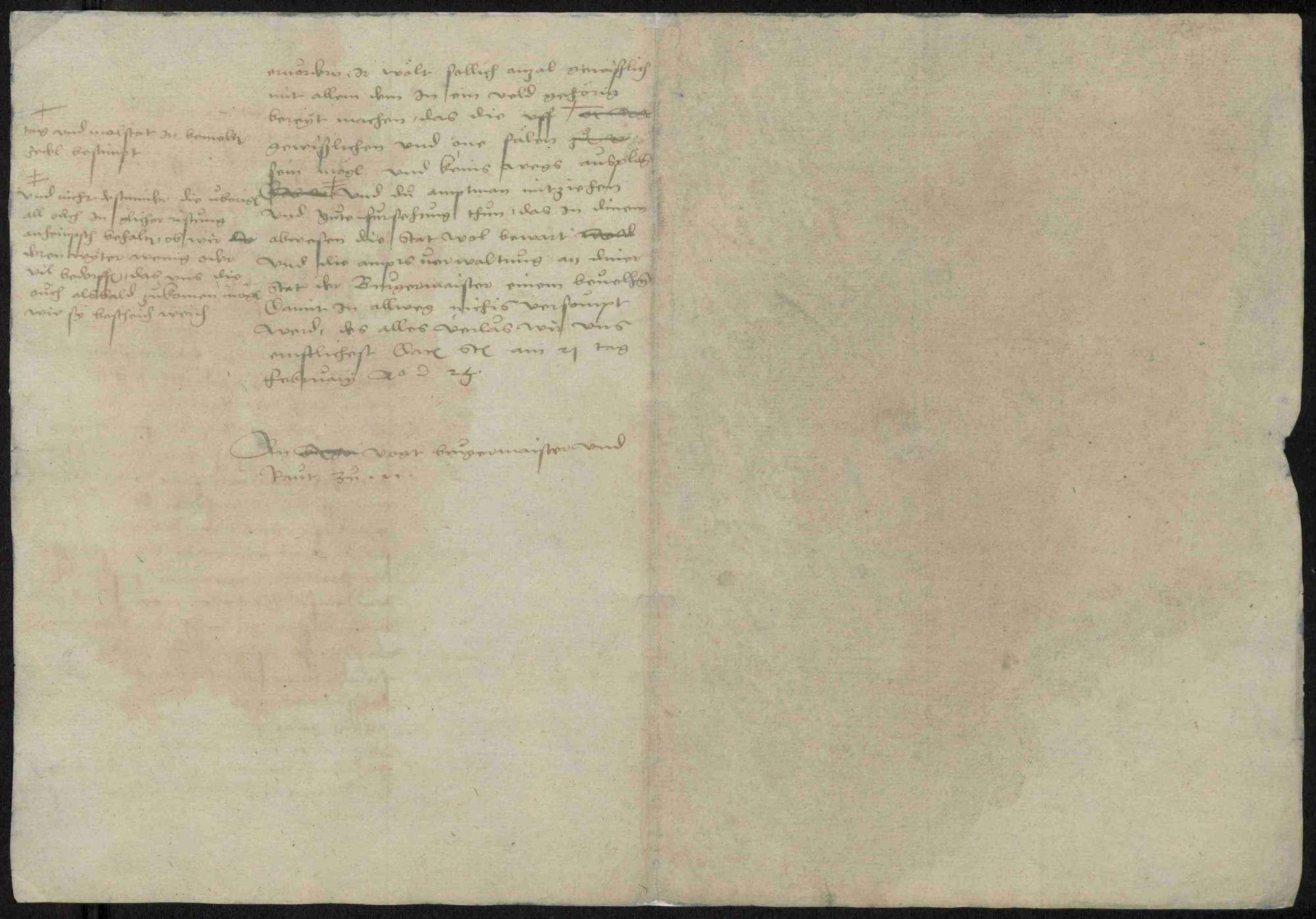 Schriften zu Vorgängen während des Bauernkrieges, u.a. Bauernkorrespondenz, Bild 3