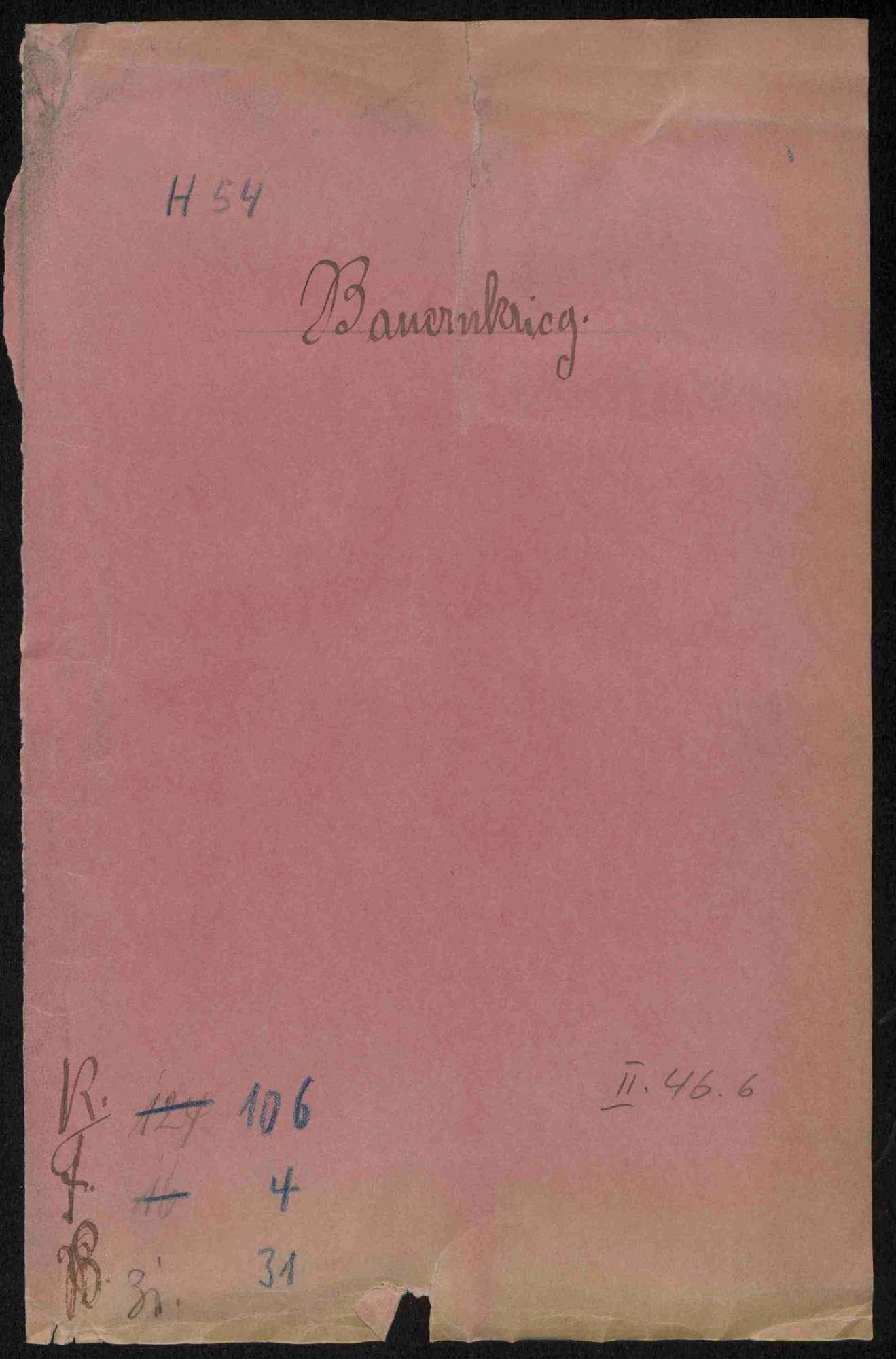Entschädigungsklage des Abtes von Adelberg durch die Untertanen von Heiningen, Bild 1