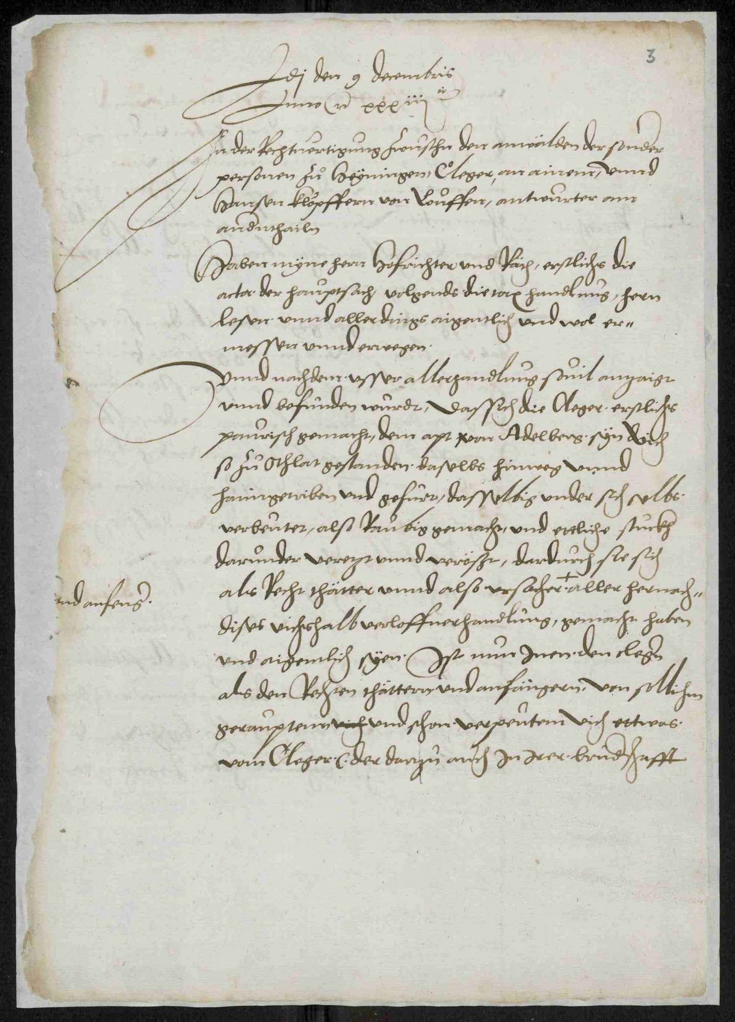 Entschädigungsklage des Abtes von Adelberg durch die Untertanen von Heiningen, Bild 3