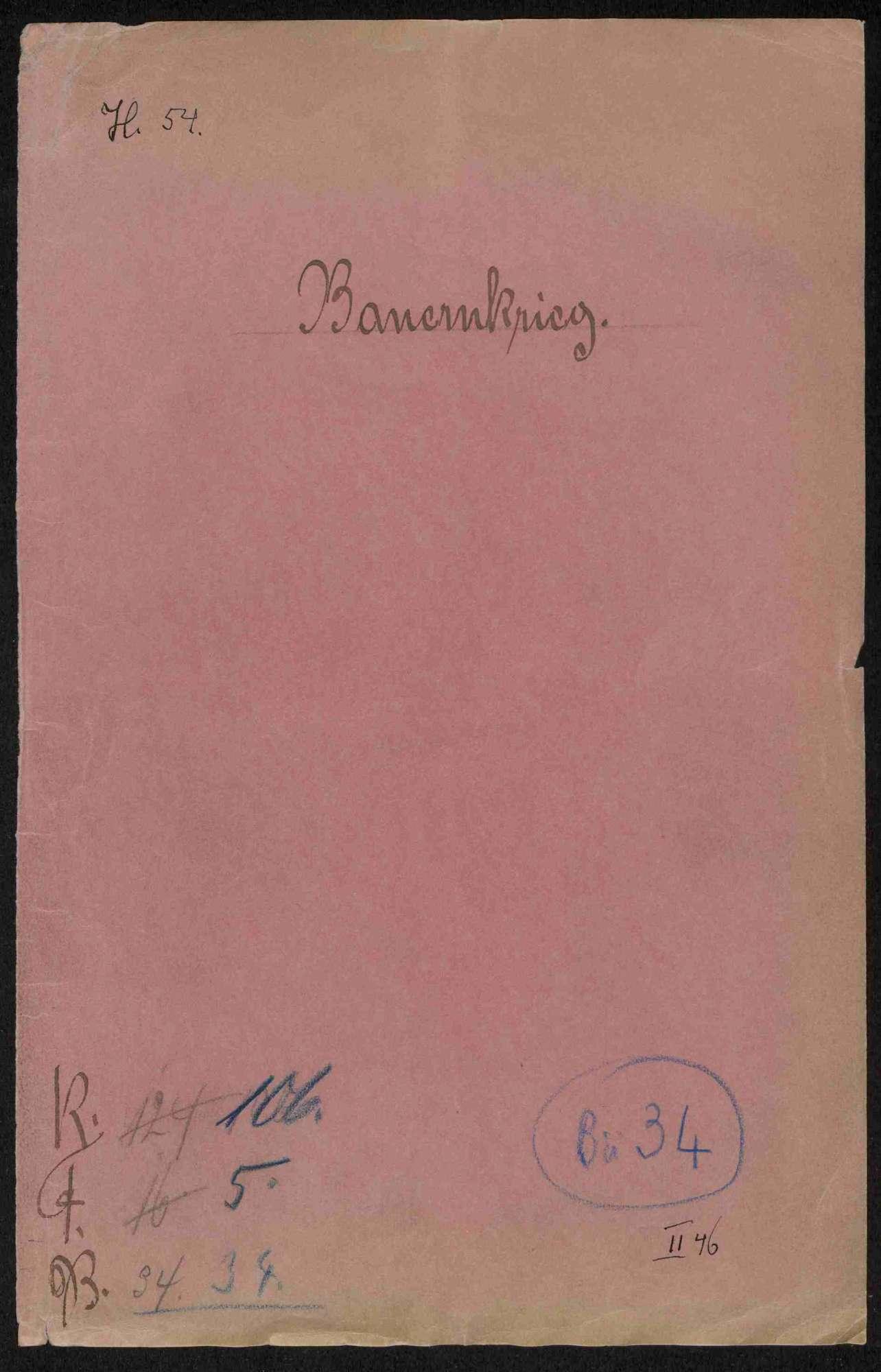 Entschädigungsklagen von Geistlichen, Adeligen und Privatpersonen gegen württembergische Gemeinden bzw. Untertanen, Teil II, Bild 1