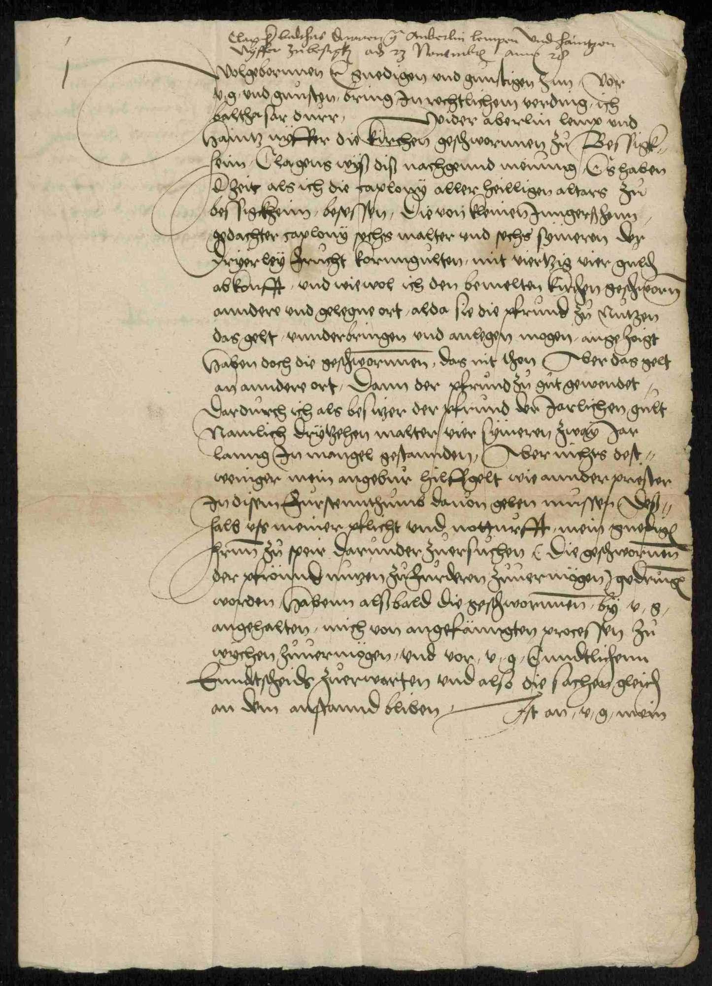 Entschädigungsklagen von Geistlichen, Adeligen und Privatpersonen gegen württembergische Gemeinden bzw. Untertanen, Teil II, Bild 3