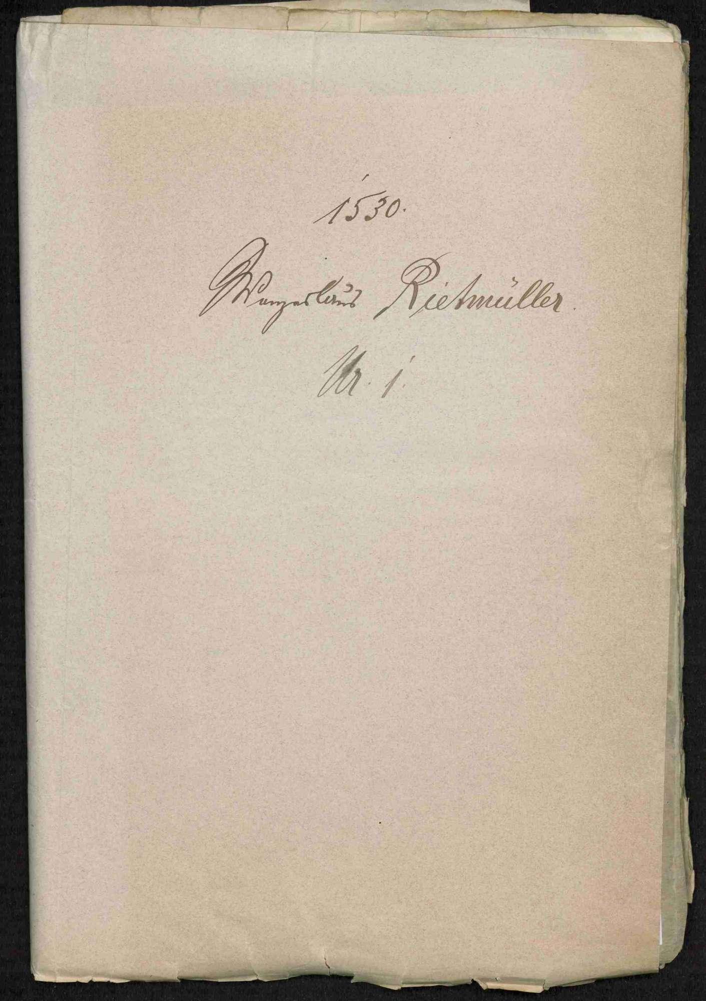 Entschädigungsklagen weltlicher und geistlicher Stände; Strafnachlass für Bauernanführer Hans Menckler von Bönnigheim, Bild 2