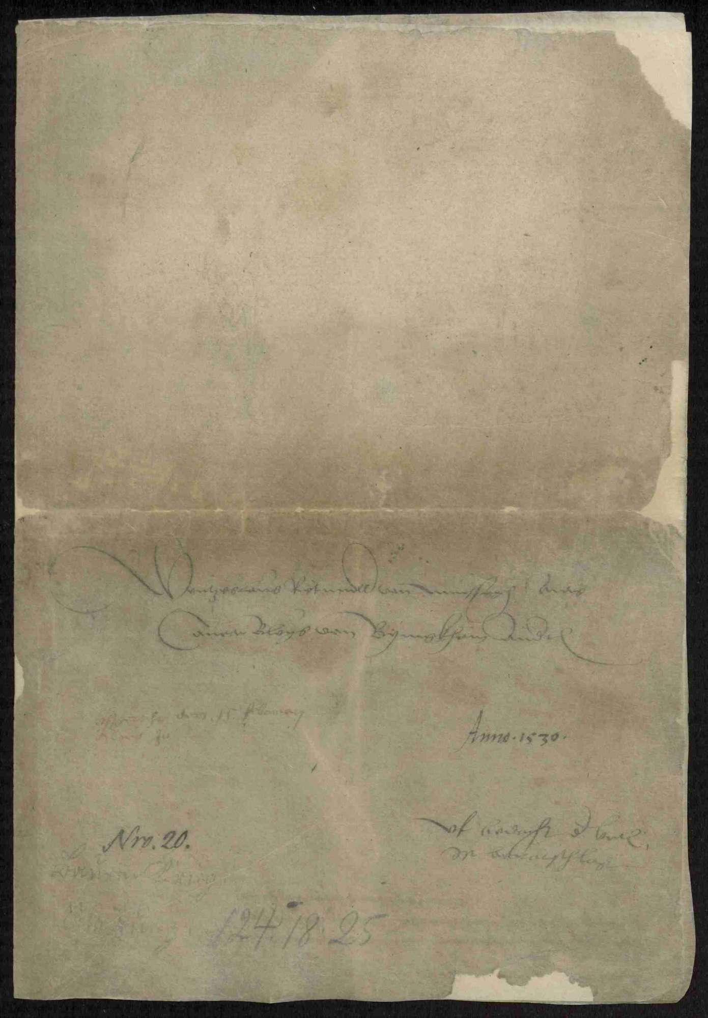 Entschädigungsklagen weltlicher und geistlicher Stände; Strafnachlass für Bauernanführer Hans Menckler von Bönnigheim, Bild 3