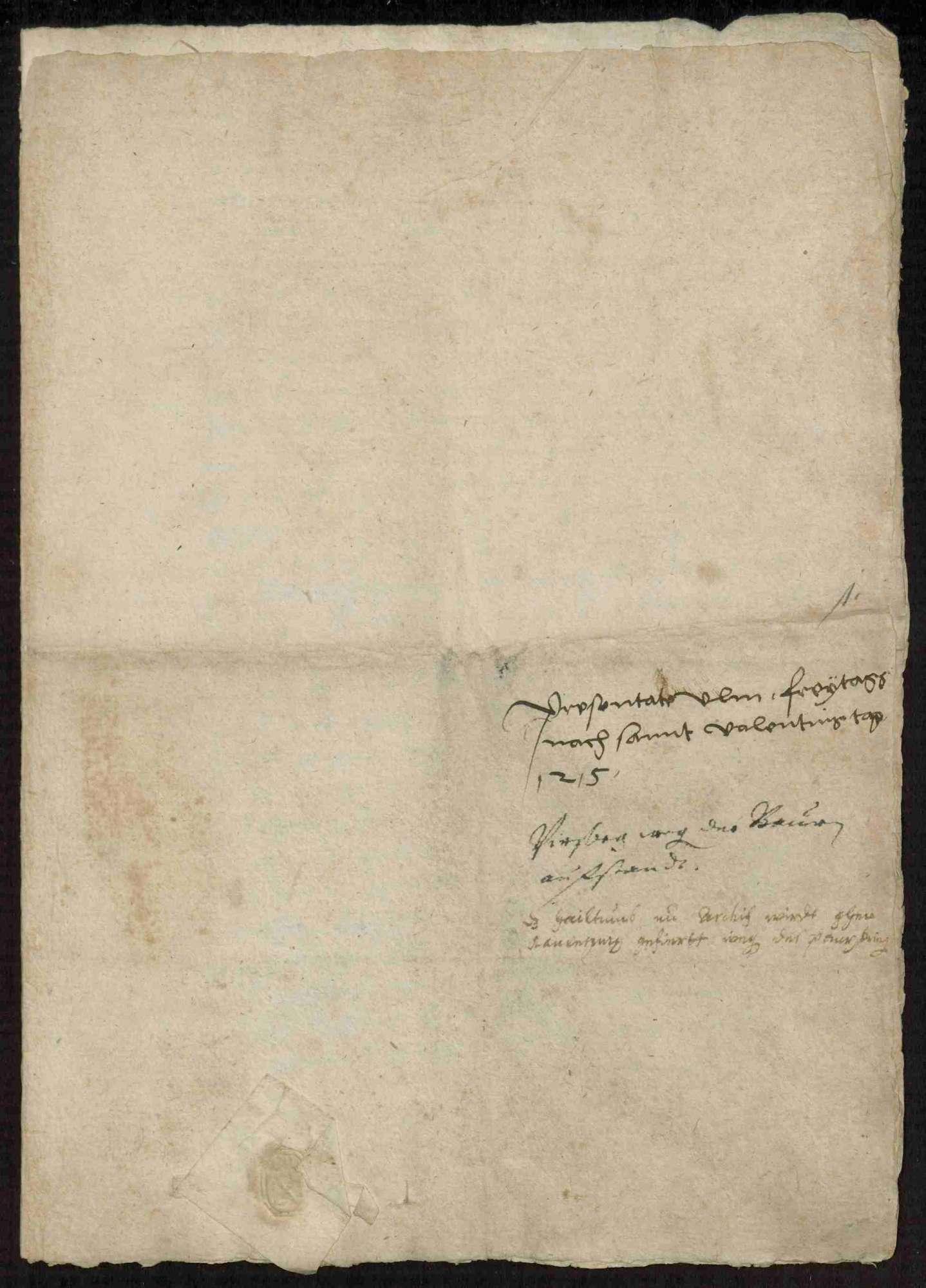 Schriftwechsel des Abts Gerwig von Weingarten, Bild 2