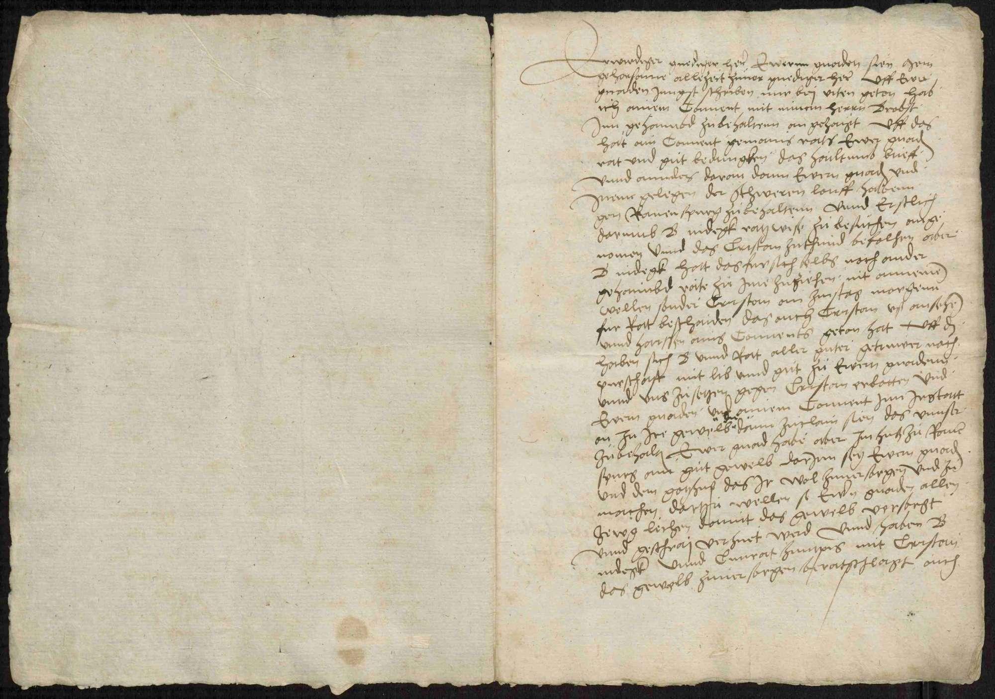 Schriftwechsel des Abts Gerwig von Weingarten, Bild 3