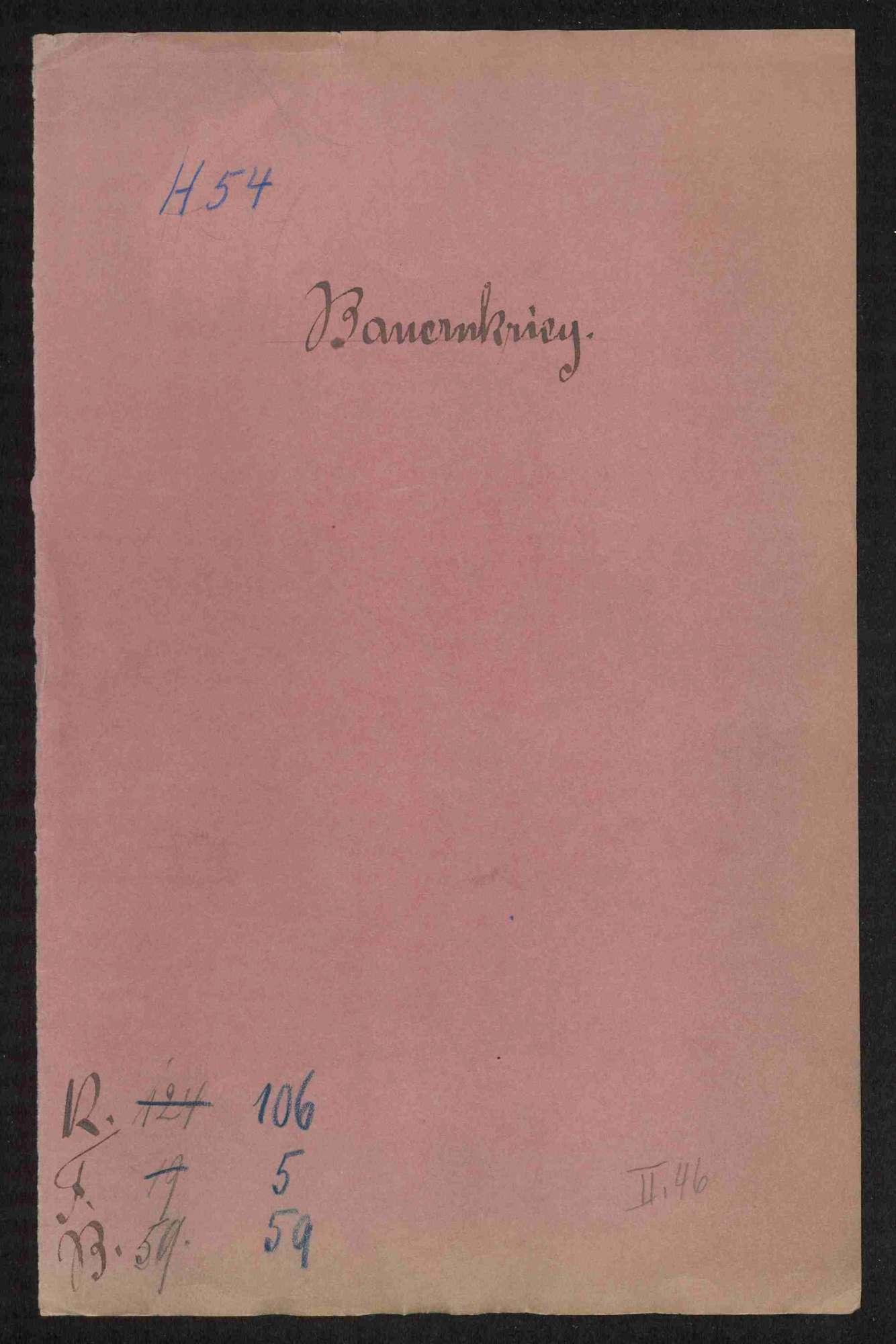 Einnahmelisten aus der Brandschatzung gegenüber den mit Namen erwähnten Untertanen des Amtes Ellwangen nach einem Mandat des Schwäbischen Bundes, Bild 1