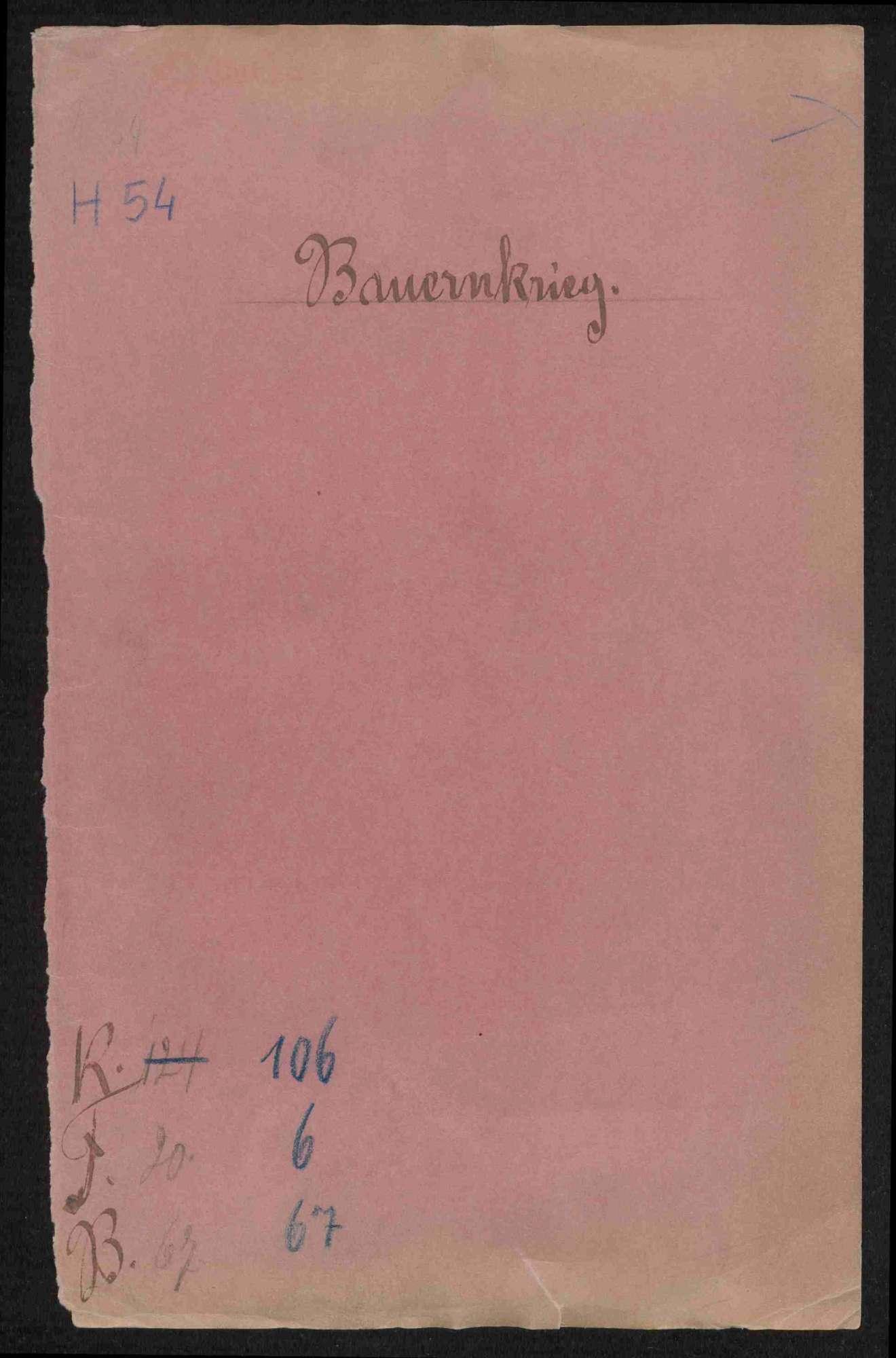 Bestrafung, Brandschatzung und Huldigungen der deutschherrischen Gemeinden und Untertanen, 1525-1530, Bild 1