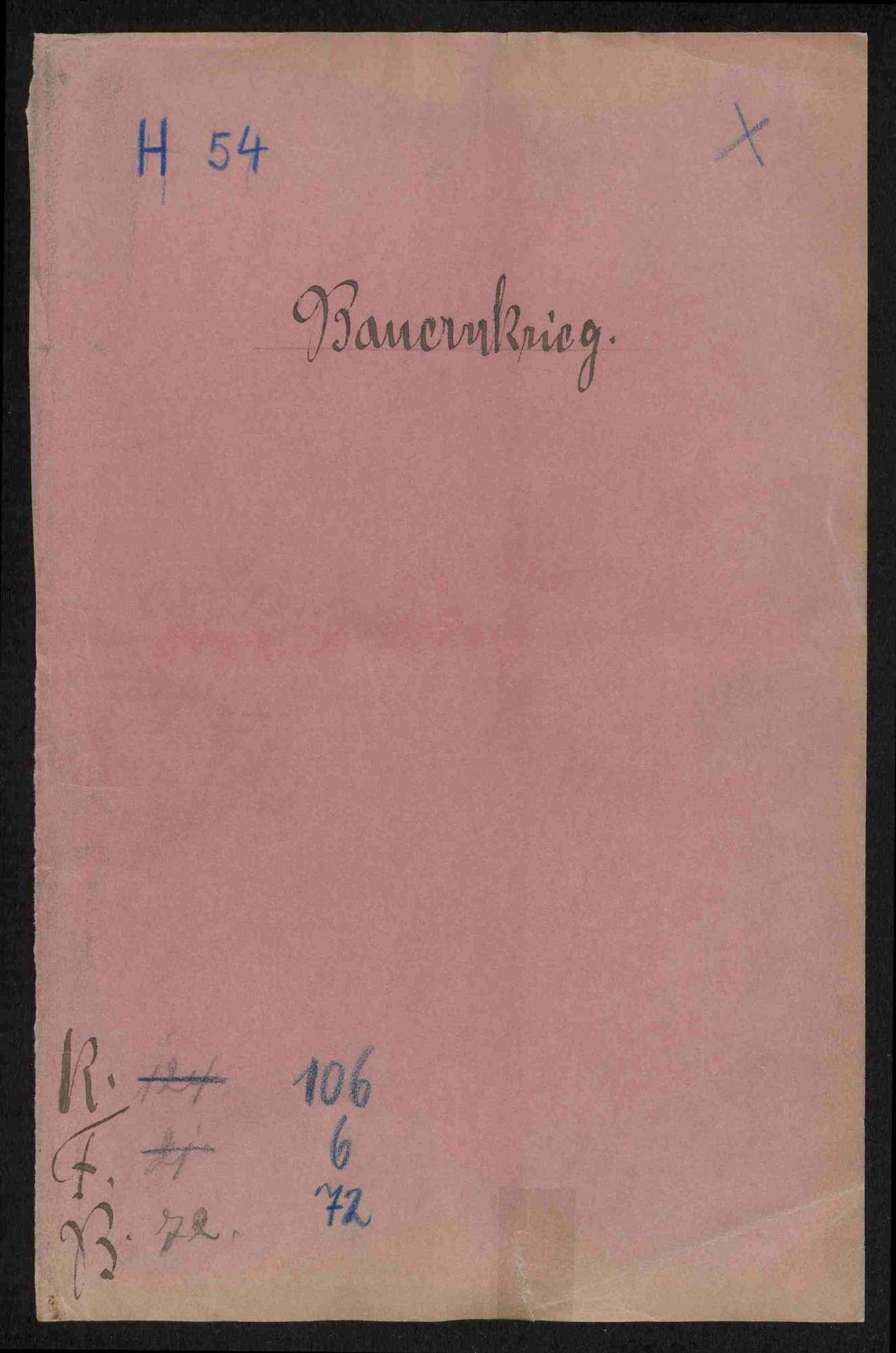 Strafverfahren gegen deutschherrische Rädelsführer und Aufständische, Teil IV, Bild 1