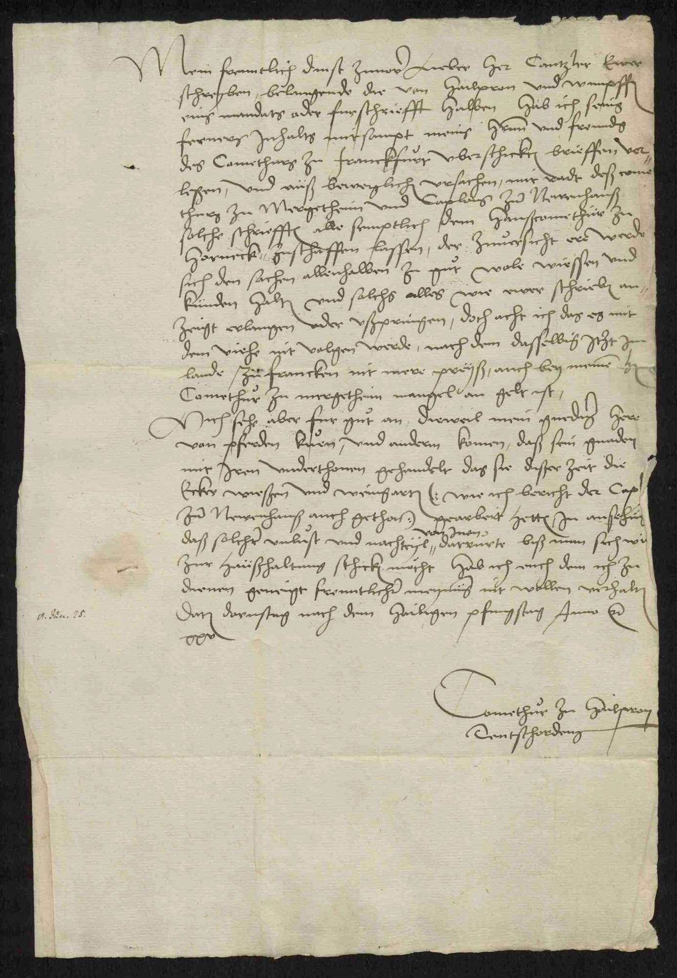 Der vom Deutschen Orden angestrebte Entschädigungsprozess gegen die Reichsstadt Heilbronn, 1525-1566, Bild 2
