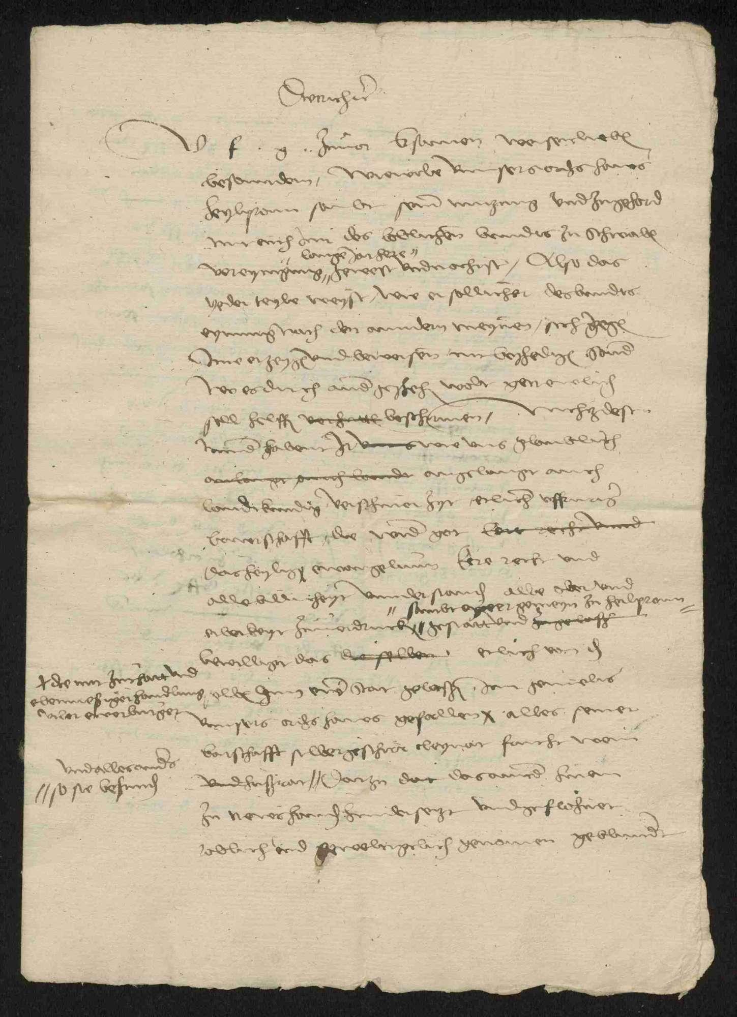 Der vom Deutschen Orden angestrebte Entschädigungsprozess gegen die Reichsstadt Heilbronn, 1525-1566, Bild 3