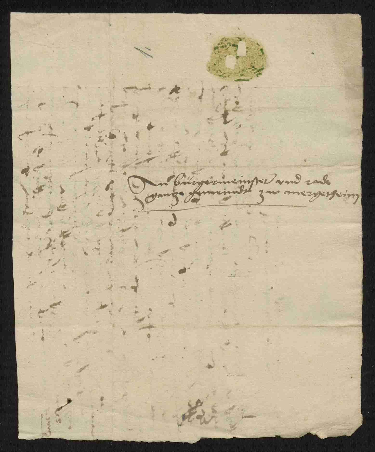 Entschädigungsforderungen zwischen dem Deutschen Orden und benachbarten Adeligen und Gemeinden, Teil I, Bild 3