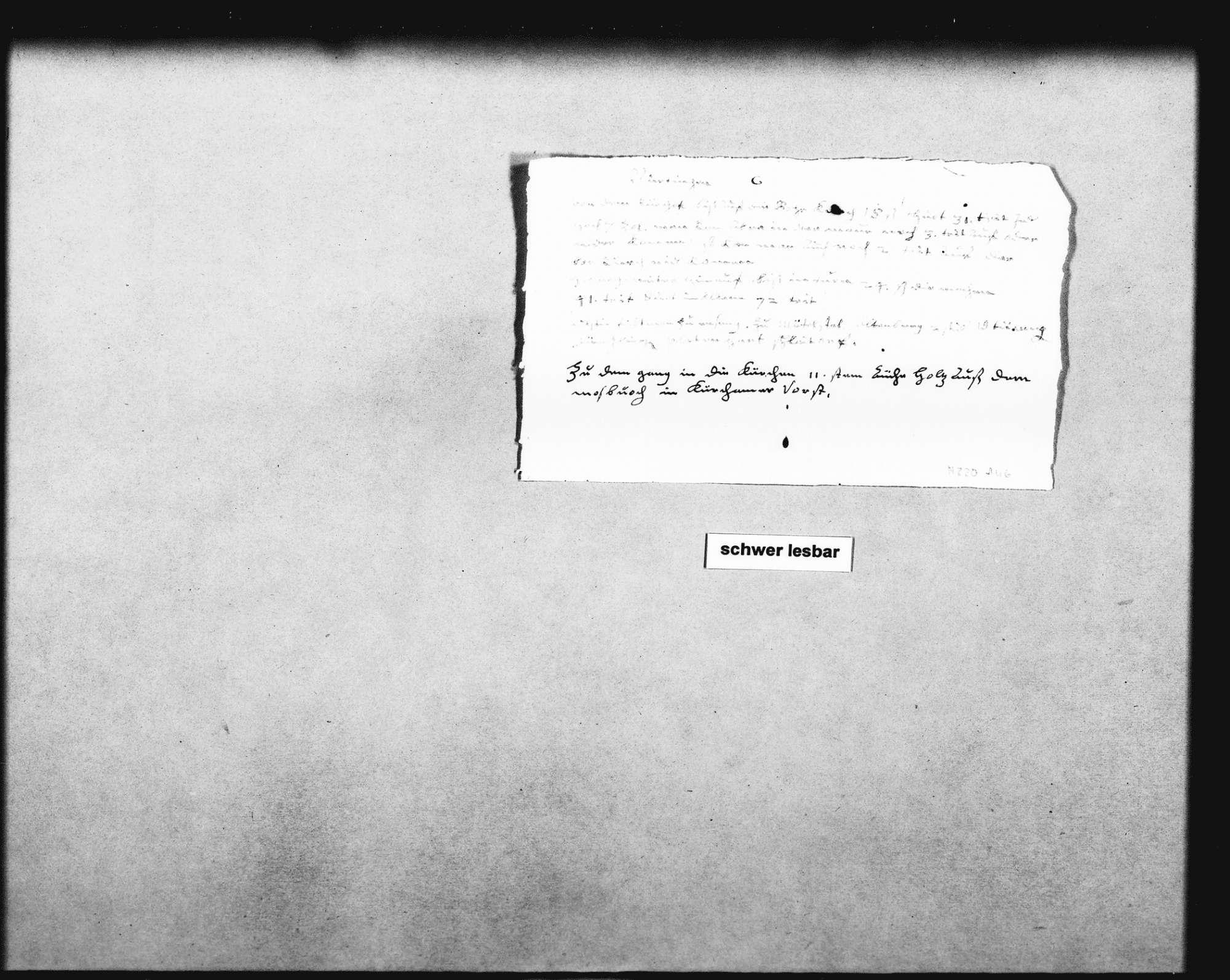 Schreiben Schickhardts auf Befehl der Herzogin Ursula von Württemberg über die Einstellung des Maurers Hans Hering (Folio Doppelblatt), Bild 3