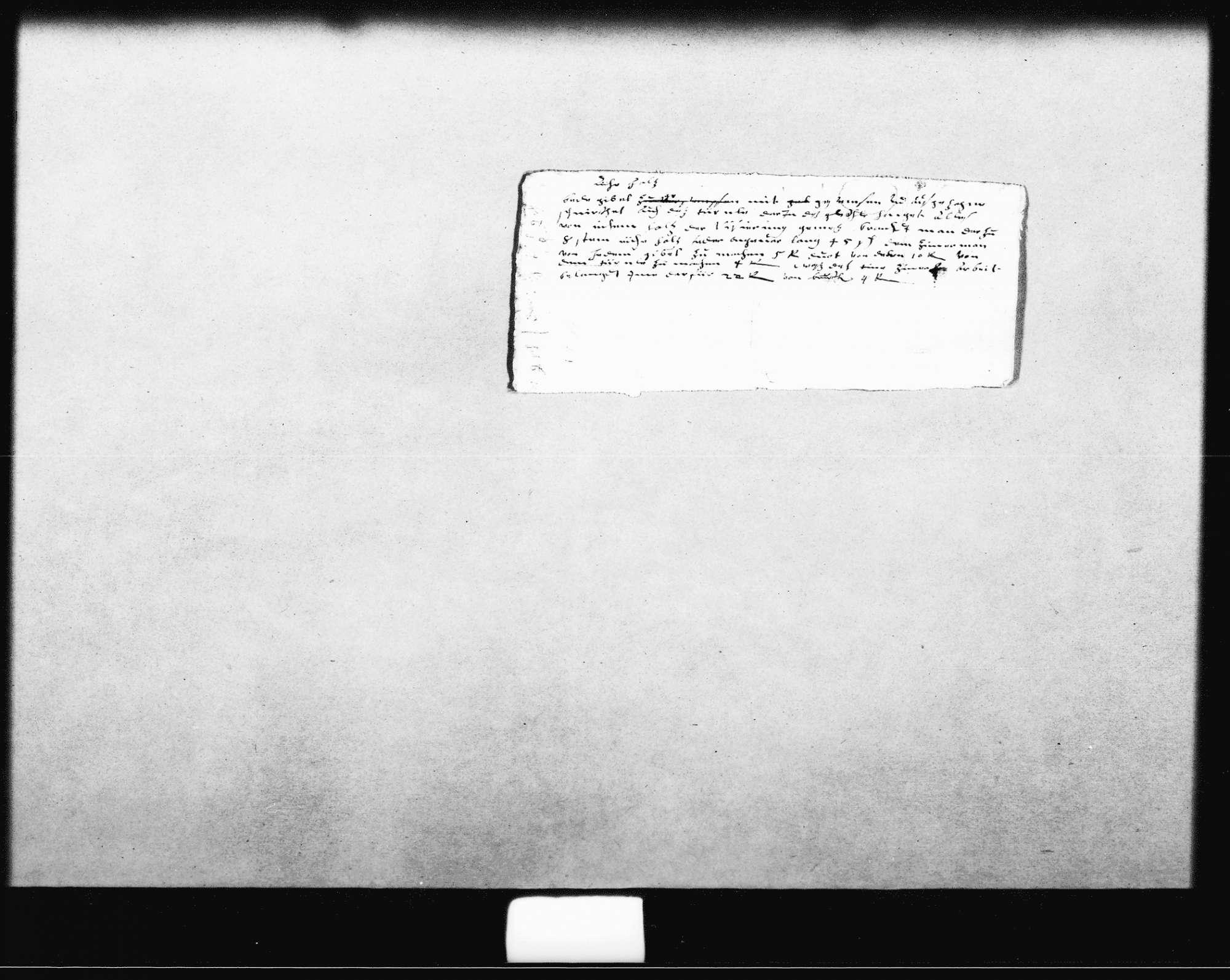 Zwei Kostenvoranschläge für den Um- und Ausbau des Marstalls (3 Folio, Oktav), Bild 3