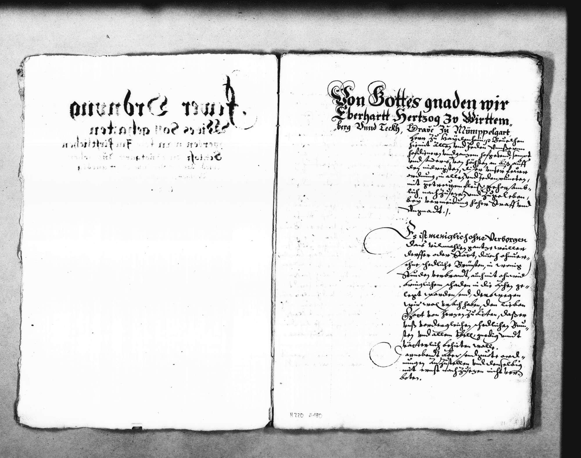 Entwurf der Feuerordnung für das Schloss in Stuttgart, Bild 3