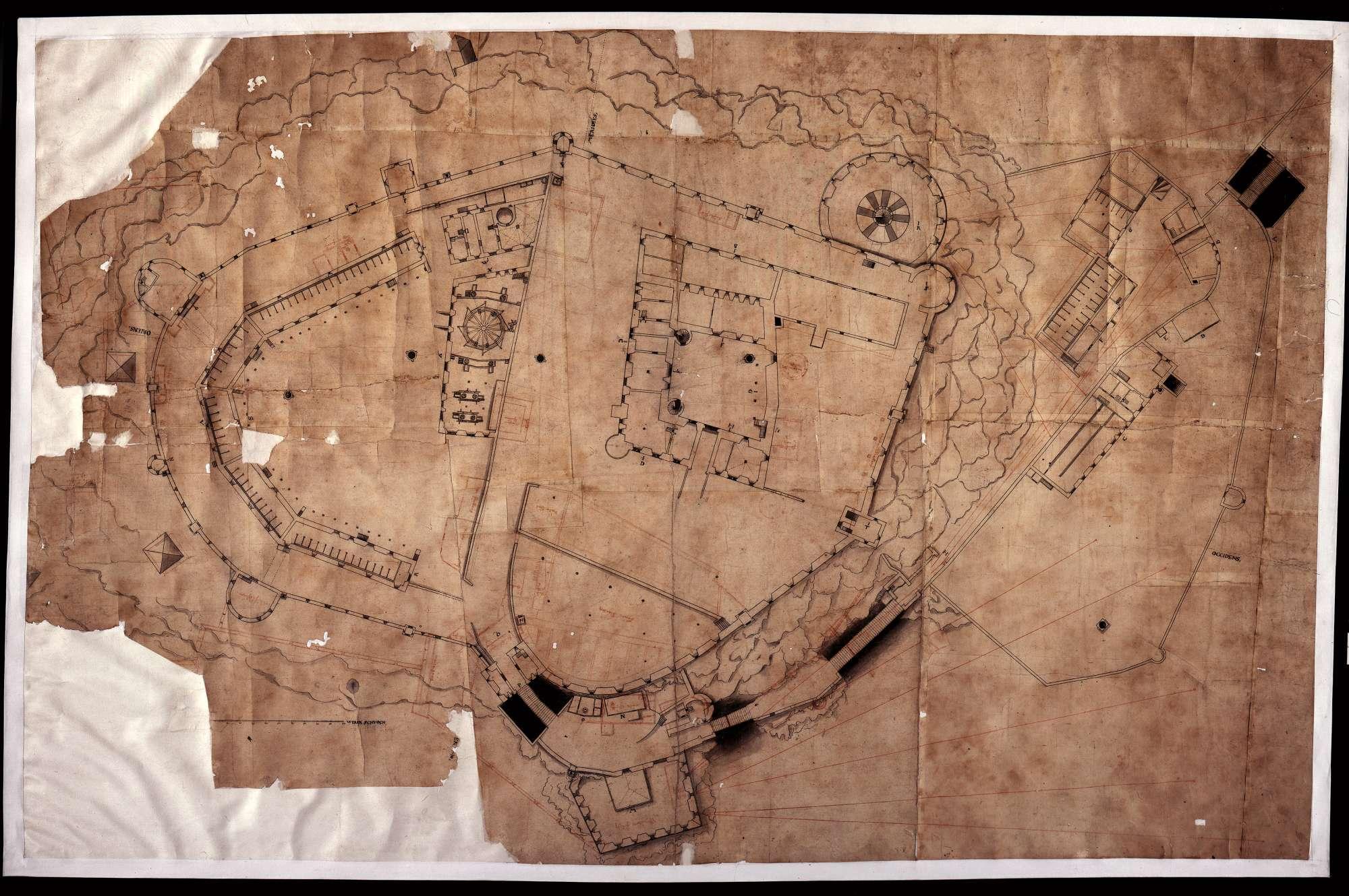 Grundriss der Festung Hohentwiel, Bild 1