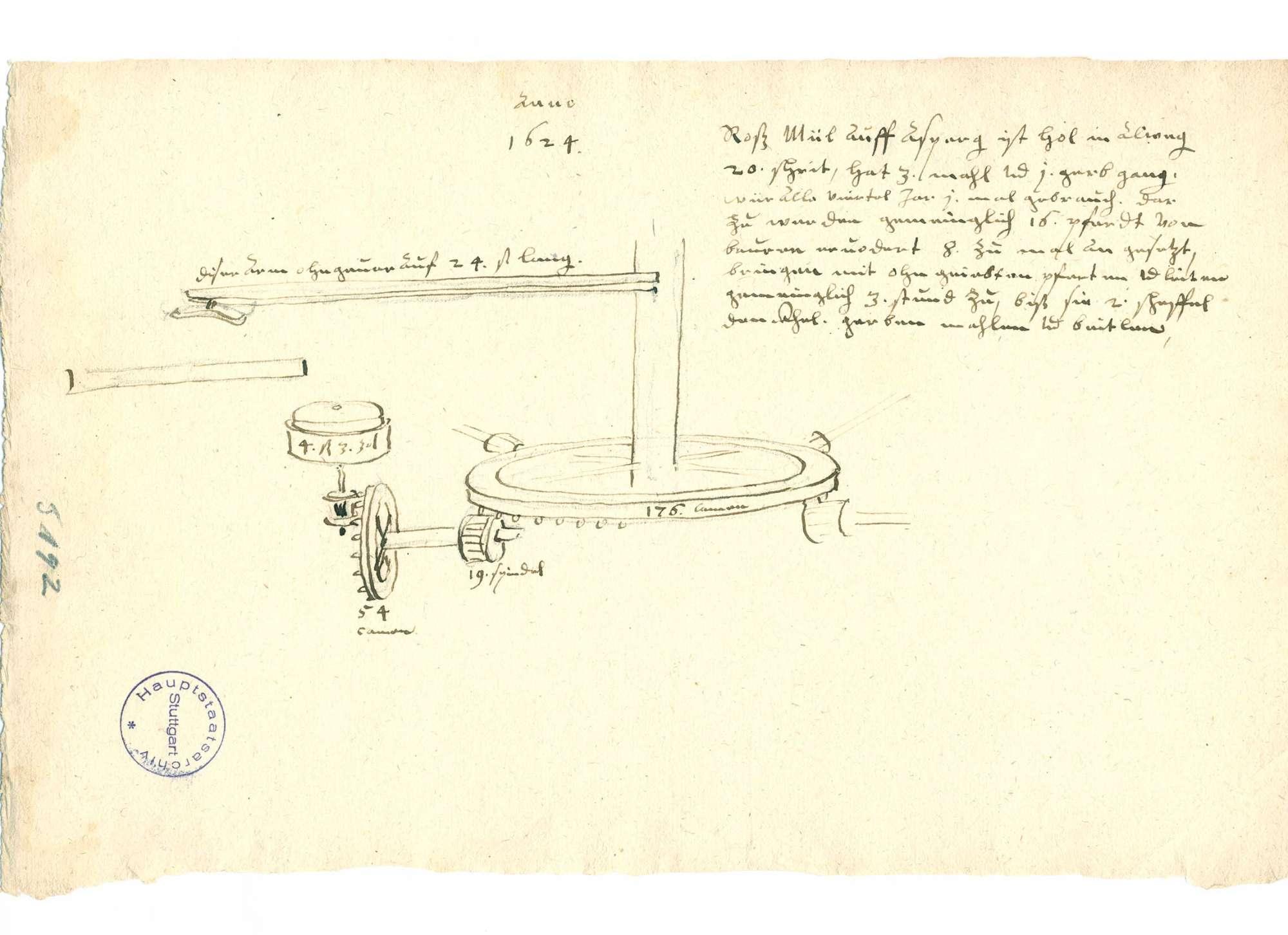 Rossmühle auf dem Asperg, Bild 1