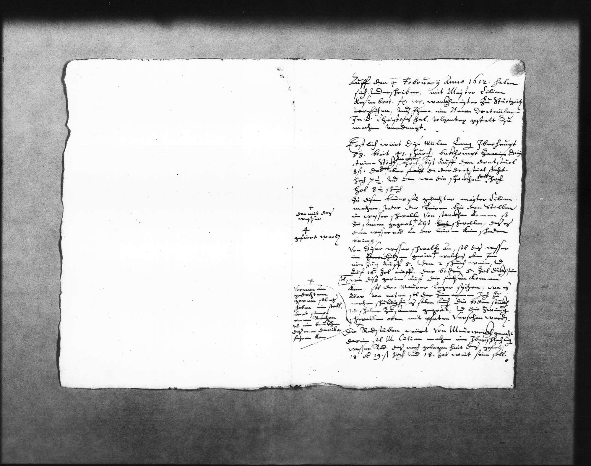 Entwurf Des Arbeitsvertrages Für Kilian Kesenbrot Zur Errichtung Der