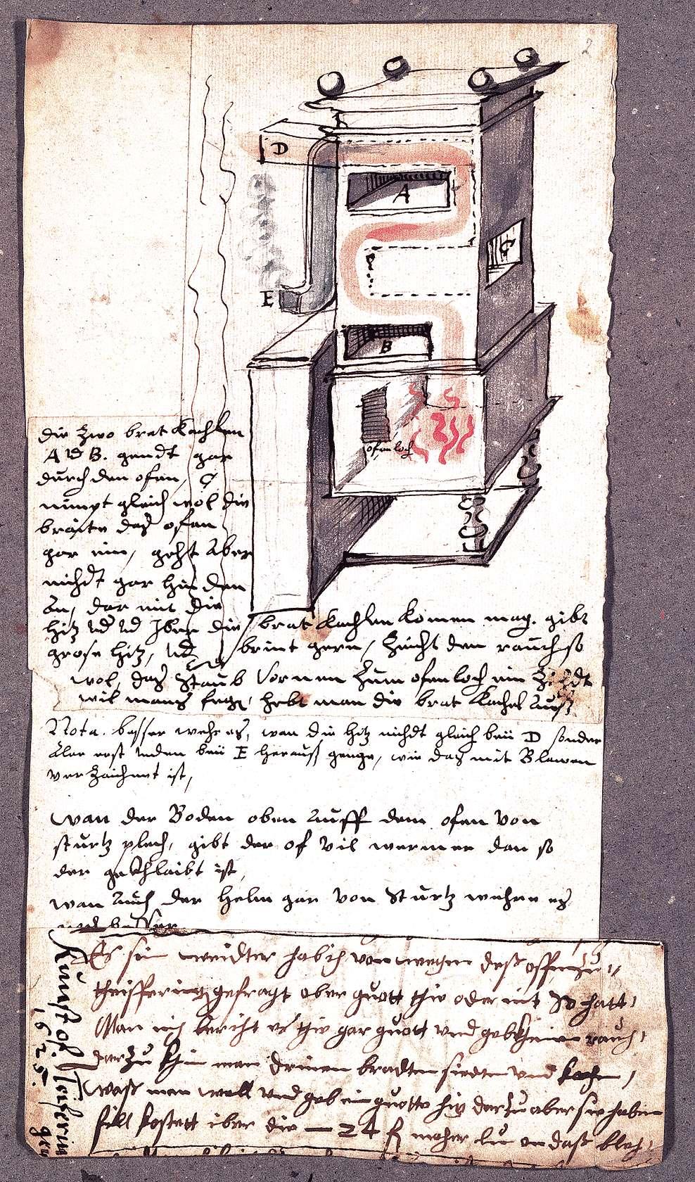 """""""Kunstofen"""" in Deufringen, Bild 1"""