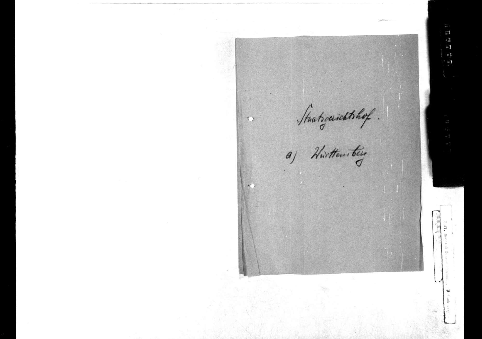 Nationalversammlung: Staatsgerichtshof, Bild 2