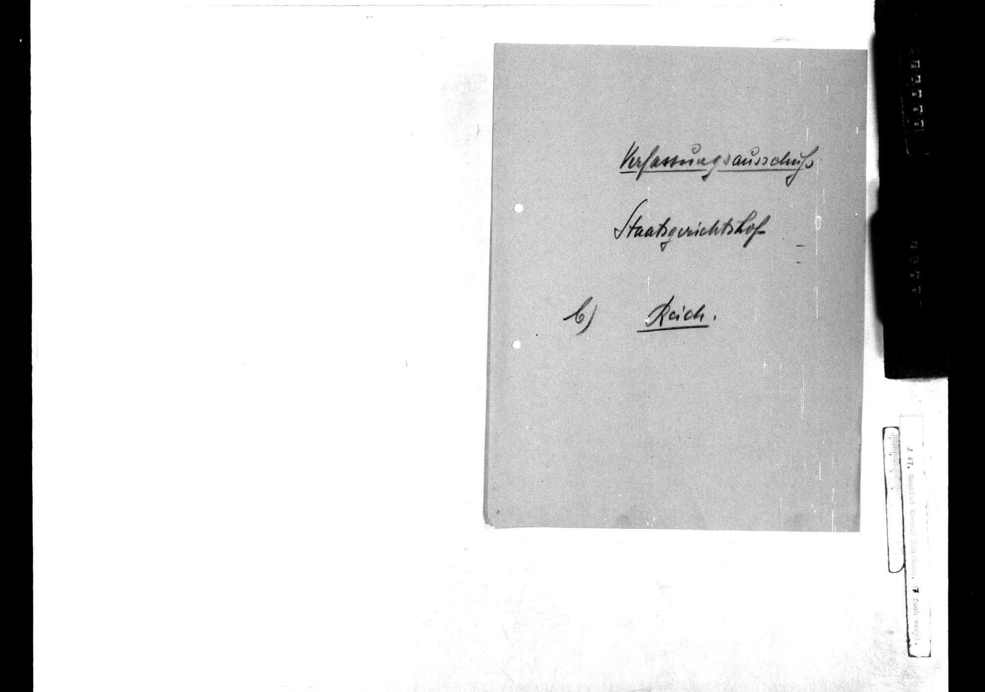 Nationalversammlung: Staatsgerichtshof, Bild 3
