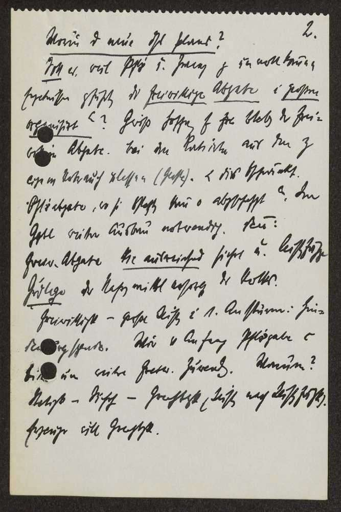Vortrag über die Sammlungs- und Erfassungsaktion im 1. Weltkrieg. Allgemeine Erwägungen, Bild 2